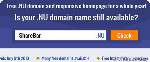 .Nu 免费顶级域名
