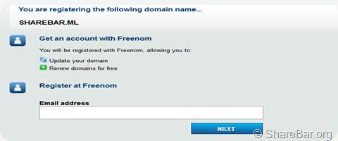 .ML免费域名申请过程 4