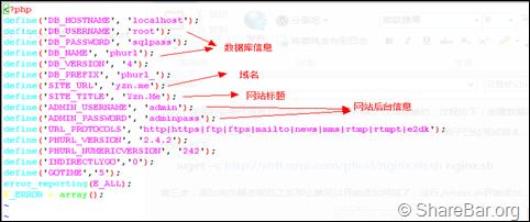 LNMP环境下安装PhUrl 2