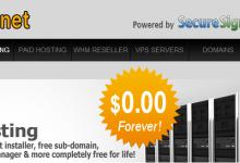 Free-Hoster提供10G免费空间