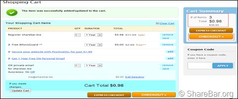 NameCheap 购买流程 5