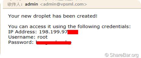 DigitalOcean免费一个月的VPS 8