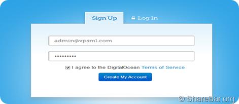 DigitalOcean免费一个月的VPS
